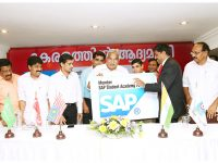Launch of SAP by Kerala Chief Minister